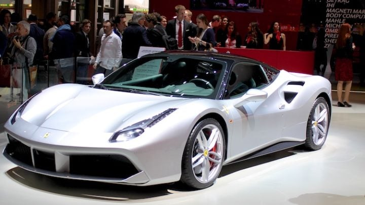 Ferrari 488 GTB at Geneva 2016