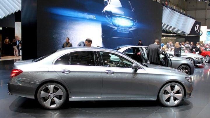 Mercedes Benz E Class Geneva 2016