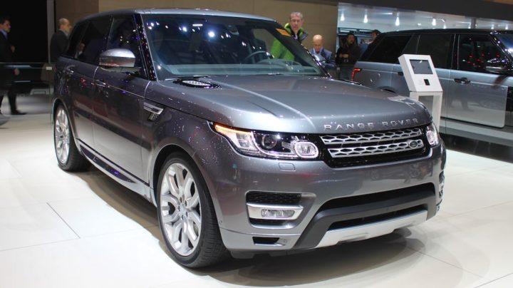 Range Rover Geneva 2016