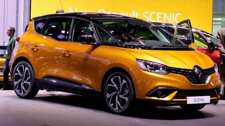Renault Scenic at Geneva 2016