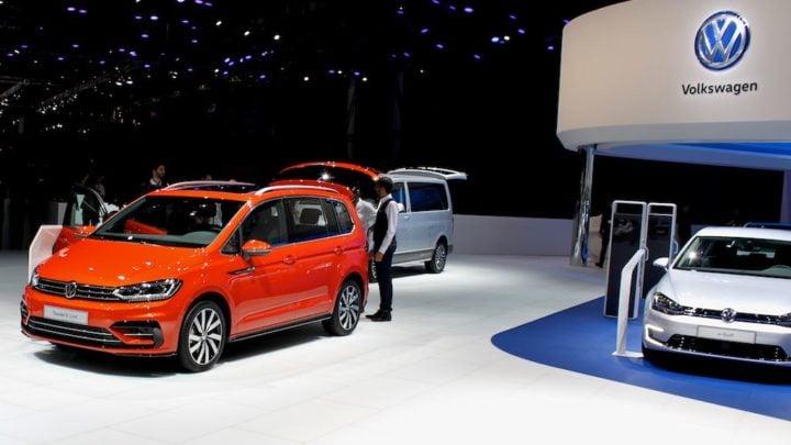 Volkswagen Touran Geneva 2016