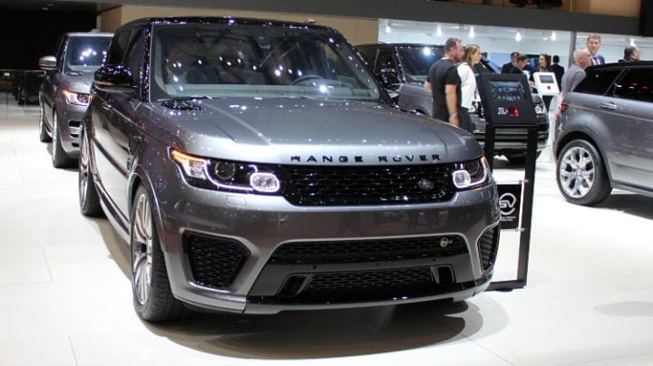 Range Rover in Geneva 2016