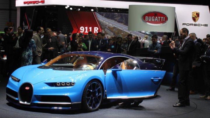 Bugatti Chiron at Geneva 2016