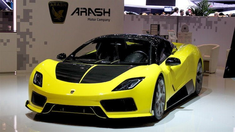 Arash at Geneva Auto Salon 2016