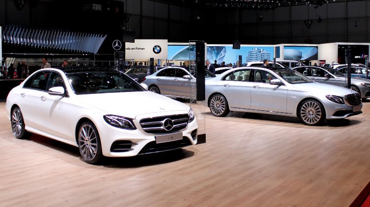 Mercedes Benz Geneva 2016