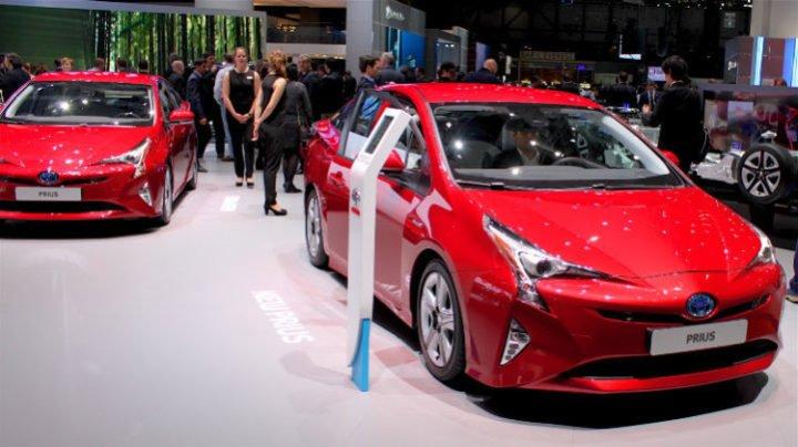 Red Toyota Prius