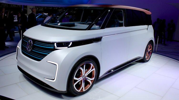 VW Budd-e at Geneva Auto Shoq