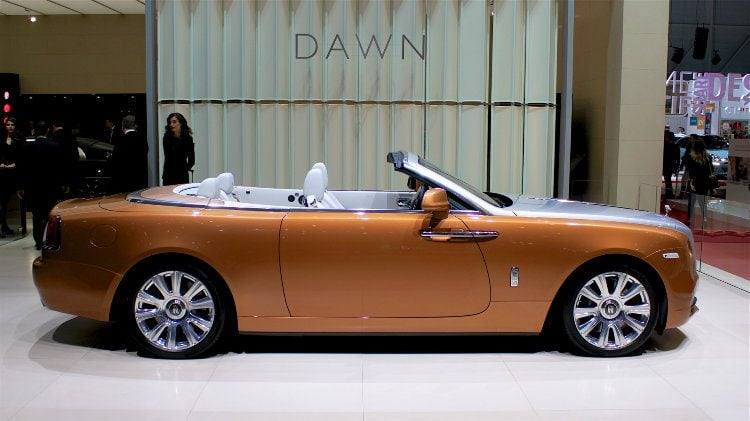 Rolls-Royce Dawn at the Geneva Auto Salon 2016