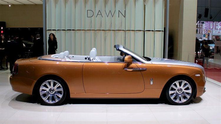 Rolls-Royce Dawn at the Geneva Auto Salon 2016