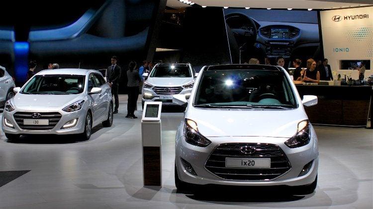 Hyundais in Geneva 2016