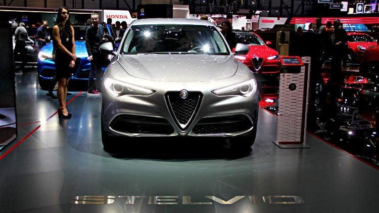 Alfa Romeo Stelvio at Geneva 2017