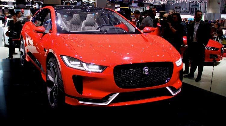 Jaguar iPace at Geneva 2017