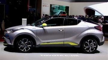 Toyota C-HR at Geneva 2017