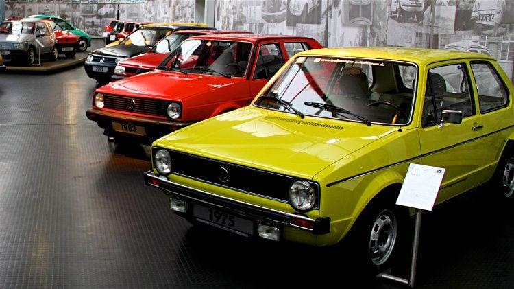 VW Golfs in Wolfsburg