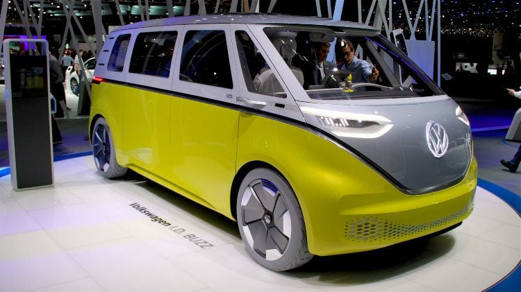 Volkswagen ID Buzz at Geneva 2017