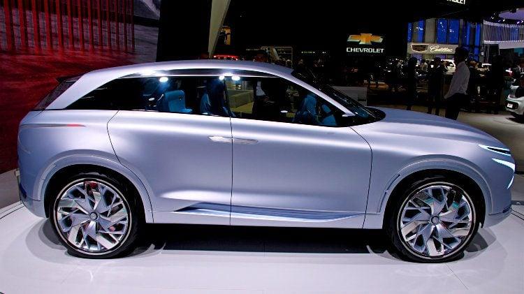 Hyundai FE Fuel Cell Concept at Geneva 2017