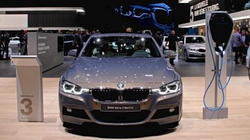 BMW 3 Series Electric Geneva 2017