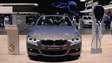 BMW 3 Series Electric Geneva 2017