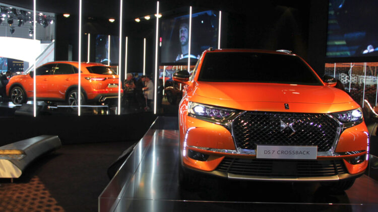 DS7 Crossback at Geneva 2017  Renault was the top-selling car brand in France during the first half of 2017, the Clio the favorite car model of the French and PSA the top car manufacturer.