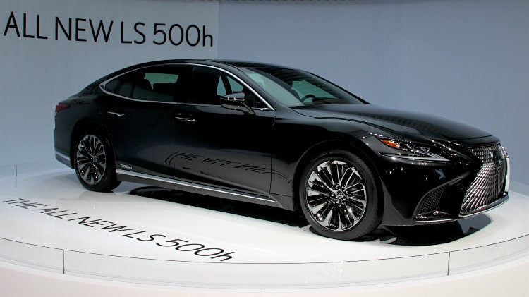 Lexus LS 500h at Geneva Auto Salon 2017