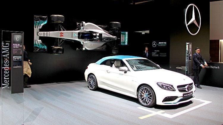 Mercedes Benz AMG C43 Coupe Geneva 2017