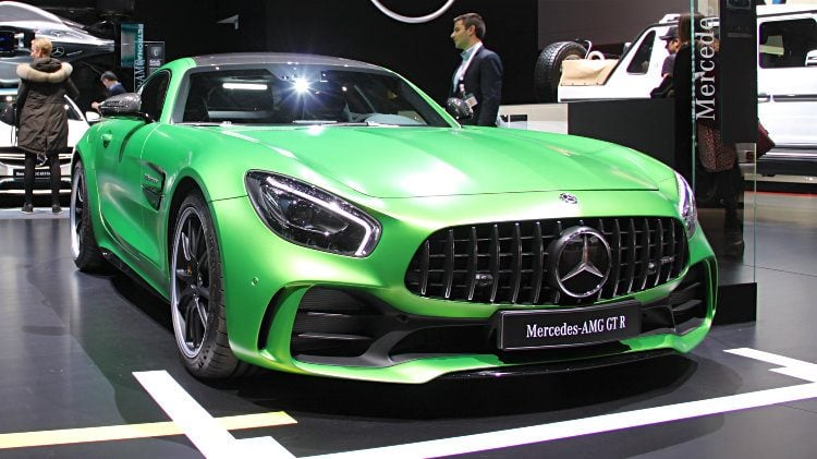 Mercedes Benz Amg Gt R At Geneva 2017 New Penger Vehicle Registrations