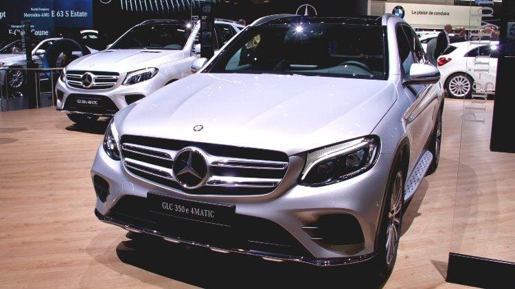 Mercedes Benz GLC Geneva Auto SHow 2017