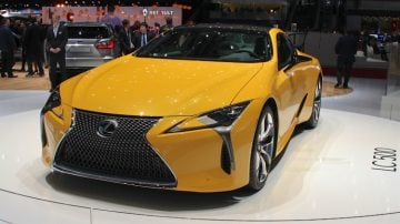 Lexus LC500 at Geneva 2017