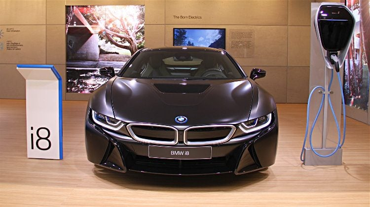 BMW i8 at Geneva 2017