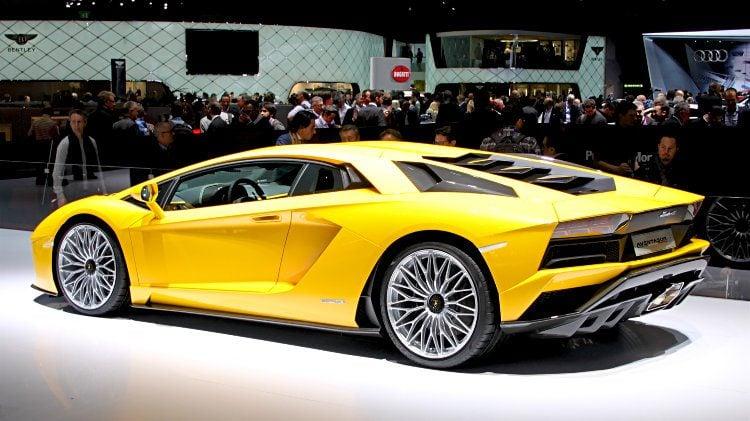 Lamborghini Aventador at Geneva 2017