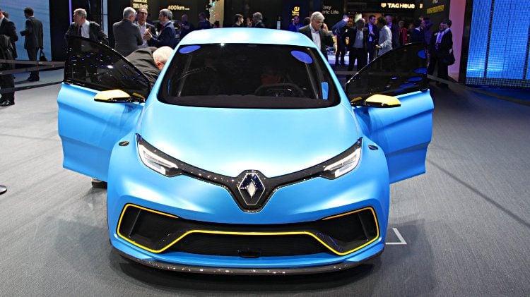 Renault Zoe E-Sport Concept at Geneva 2017
