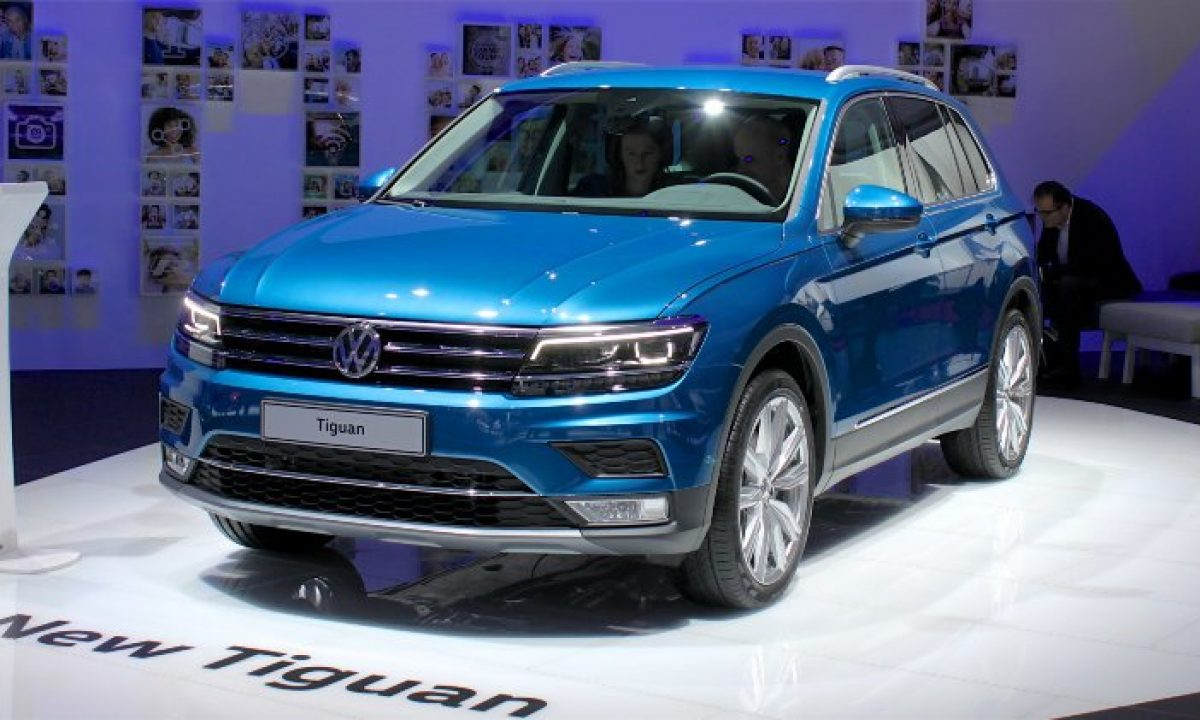2019 Global Volkswagen Produced Fifth Million Tiguan Car Sales Statistics