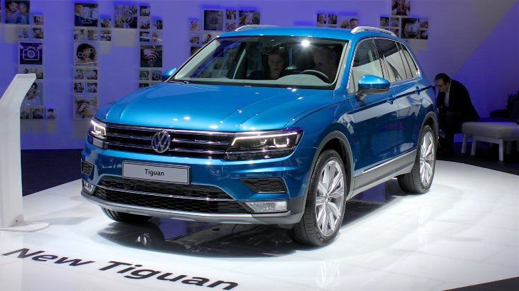 vw tiguan 2016 car sales statistics. Black Bedroom Furniture Sets. Home Design Ideas