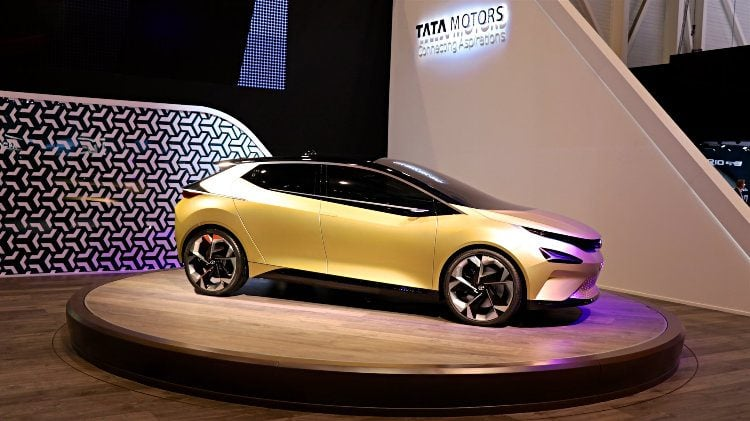 Tata Motors 4SX at Geneva 2018