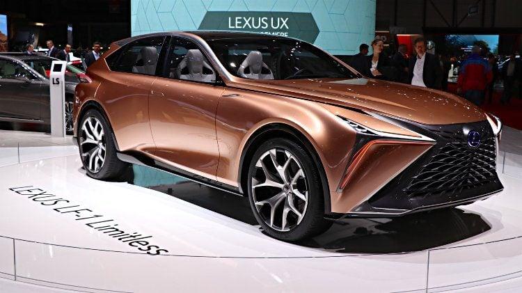 Lexus LF-1 Limitless at Geneva 2018