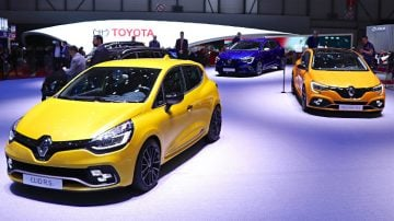 Renault Clio & Megane RS at Geneva 2018