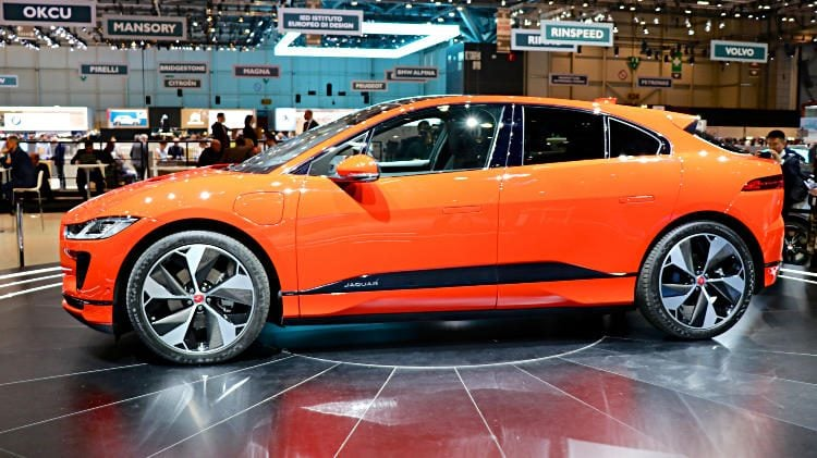 Jaguar iPace at Geneva Auto Show 2018