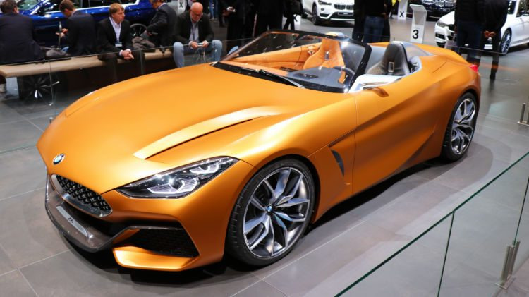 BMW Concept Z4 at Geneva 2018