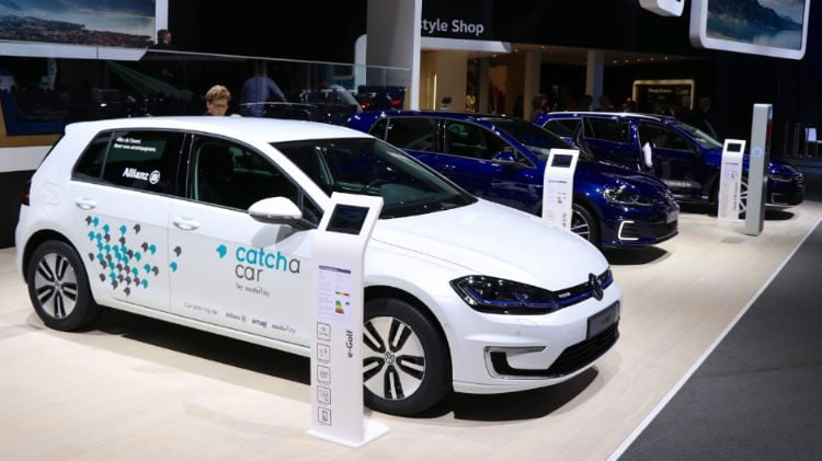 VW e-Golf Geneva 2018