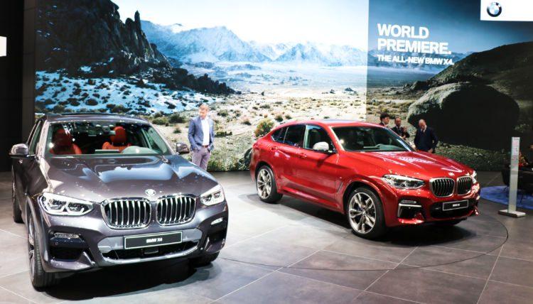 BMW X4 at Geneva Auto Salon 2018