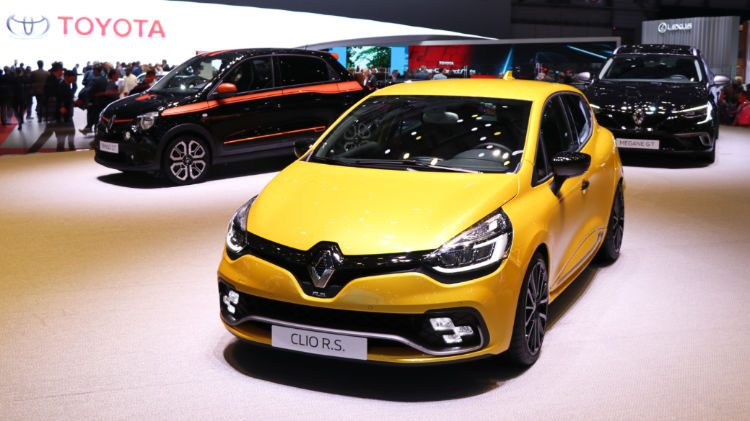 Renault Clio at Geneva