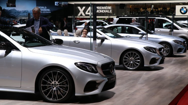 Mercedes Benz in Geneva 2018