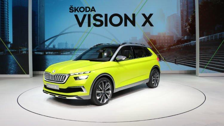 Skoda Vision X at Geneva Auto Salon 2018