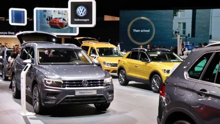 VW Tiguan All Space at Geneva Auto Salon