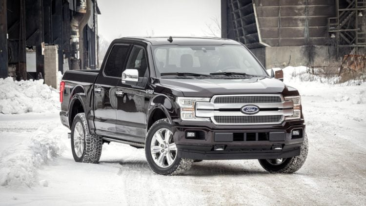 2018 Ford F150 © Ford Mo Co