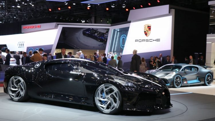 Bugatti La Voiture Noire at the Geneva Auto Show 2019