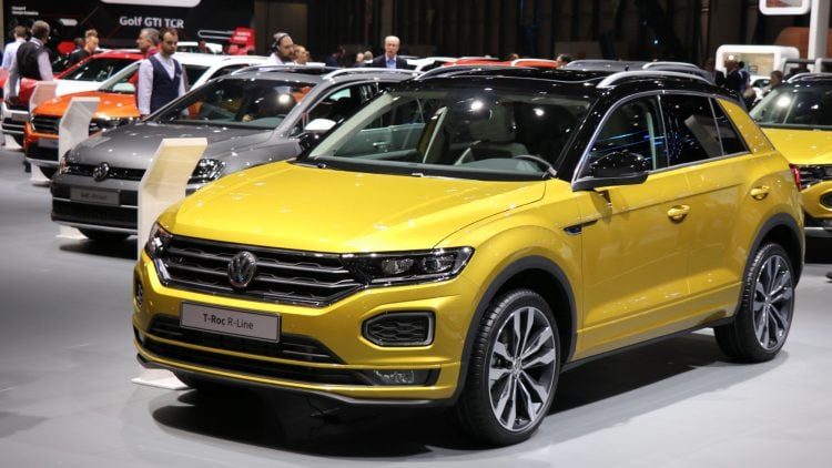 VW T Roc R Line Geneva Auto Salon 2018