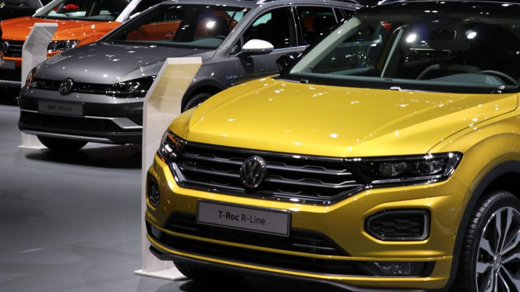 VOlkswagen cars at Geneva Auto Show 2018