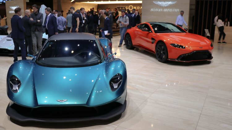 Aston Martins at Geneva Auto Show 2019