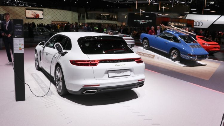 Porsche Panamera 4 e-hybrid at the Geneva Auto Salon 2019